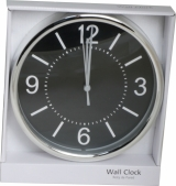 Covert Silver Wall Clock 2.0