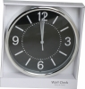 Covert Silver Wall Clock 2.0