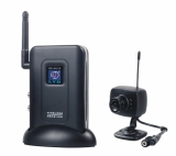 Wireless Digital Color Video Camera with Receiver