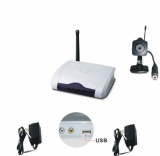Mini 2.4GHz Wireless Color Spy Camera With PC USB Adapter